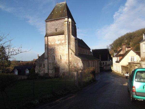 l'église de Lavardin