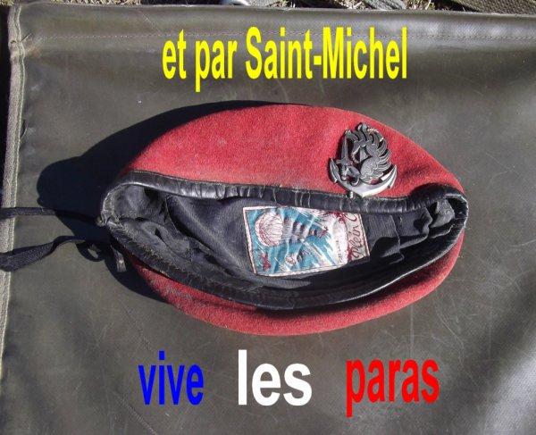 """29 SEP la """"Saint-Mich"""" : notre fête des parachutistes"""