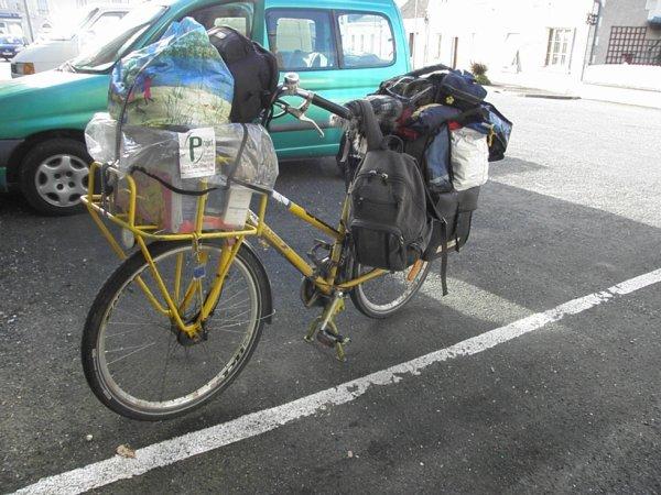 un vélo plus chargé que le mien