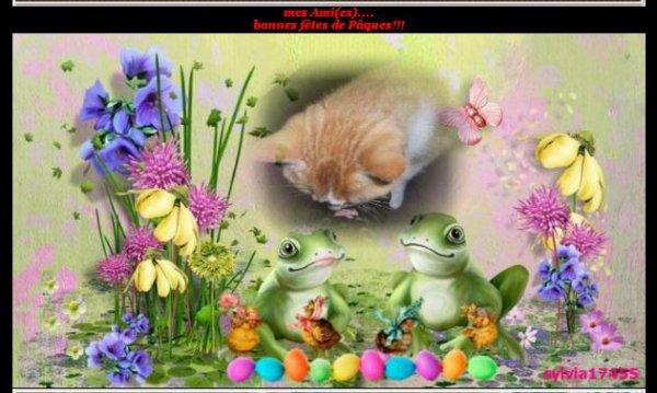 un cadeau pour Pâques de Sylvia17455 merci