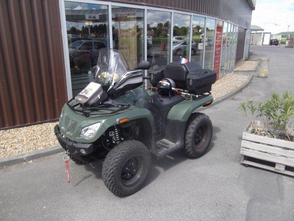 un quad vu à Montoire sur le loir