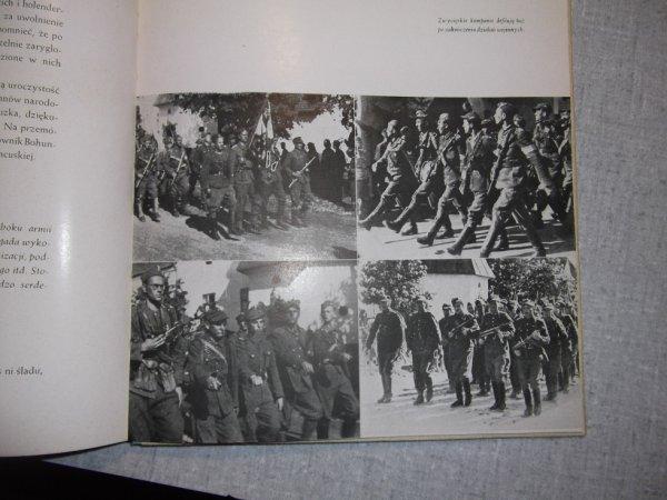 1944 la brigade de résistants polonais à papa défilent à la barbe des allemands