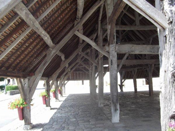 une belle halle couverte