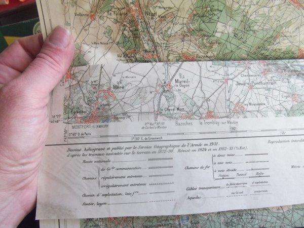 pour amis amateurs d'histoire et géo :une carte de 1931