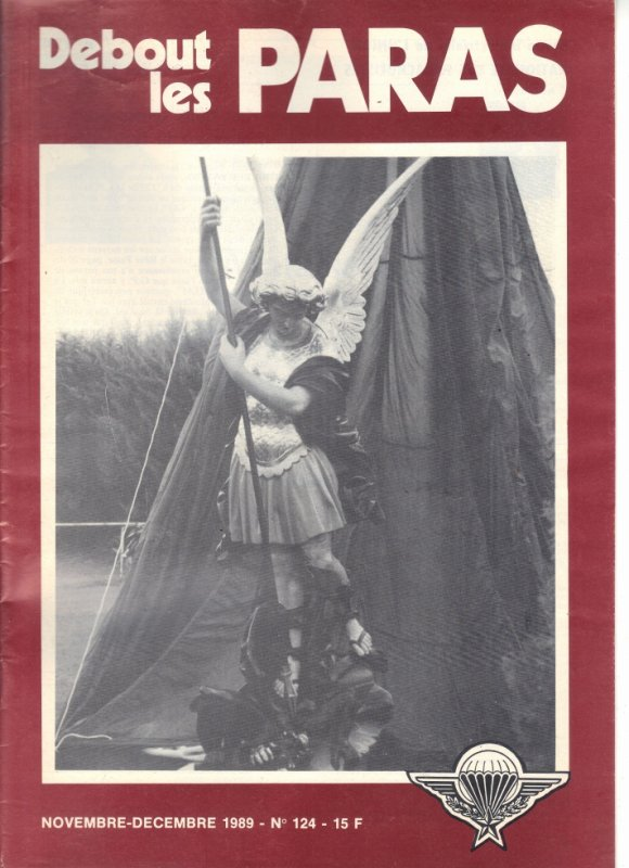 demain le 29 SEP : la SAINT-MICHEL le saint patron des parachutistes