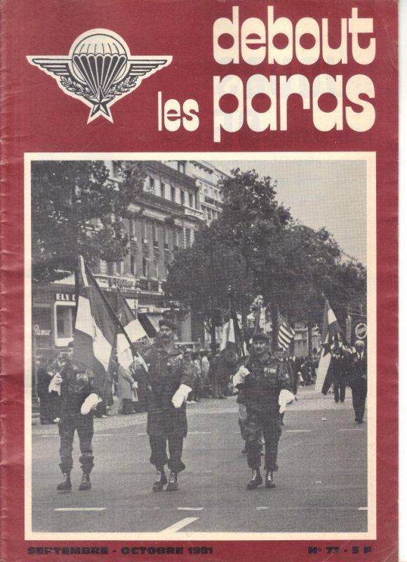 revue de 1981 ma première Saint-Mich de l'arc de triomphe puis champs élysées