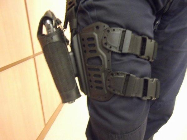 le matériel de la police évolue