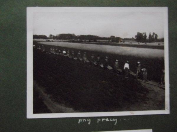 Pologne 1938:population réquisitionnée pour construire des lignes de défense