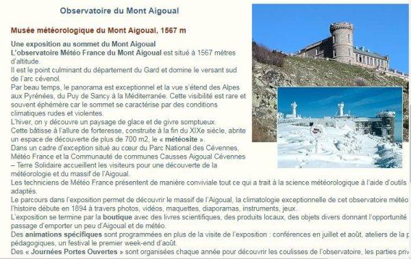 pour mon ami Spar-111 le Mont Aigual