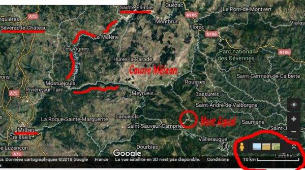 pour spar-111 position du mont-Aigual