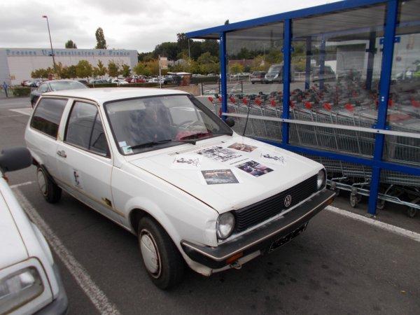 pour mon ami VW une polo break bien décorée