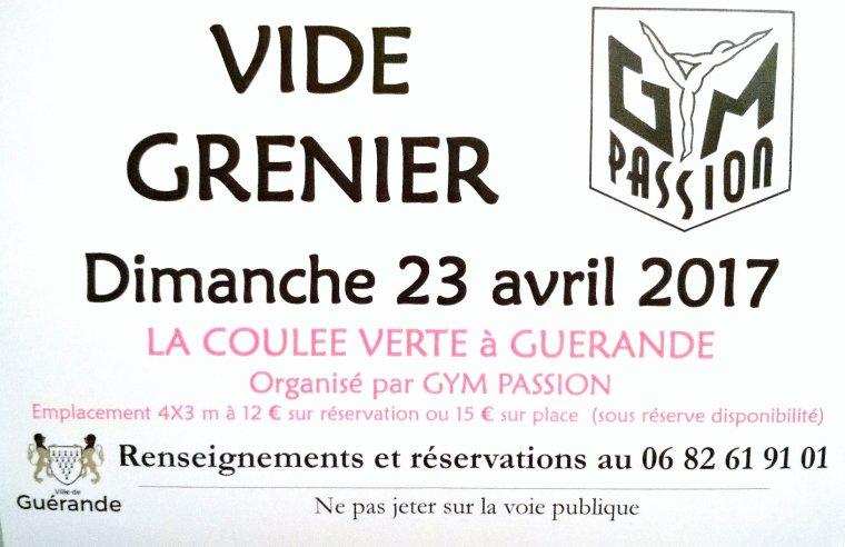 Vide grenier 2017 gym passion for Vide grenier loiret 2017