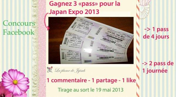 Concours Billets pour Japan Expo 2013