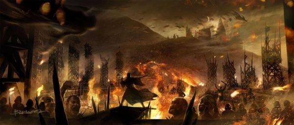 Contexte du RPG Wizard's Wars.