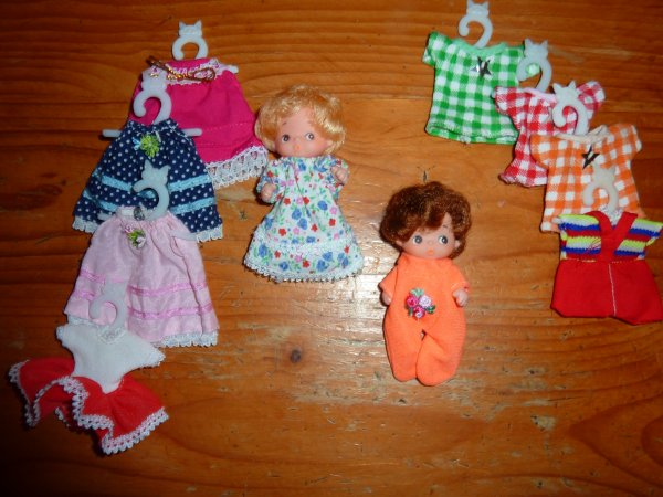 mini poupées  - Minuscule