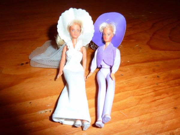 mini poupées  - Glamour Gals -