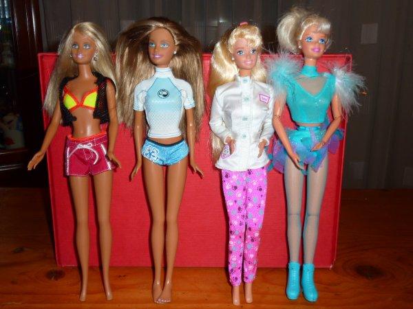 De nouvelles barbie dans la collection