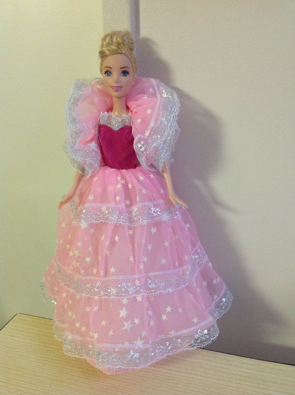 Activité de ce mercredi : trouver une robe pour cendrillon !