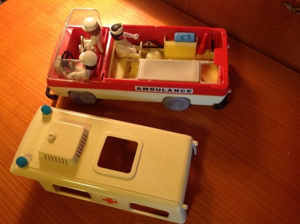 Les playmobil de mon enfance - lot 4 et fin - année 1977