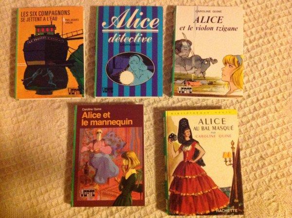 Livres bibliothèque verte - Alice detective, les six compagnons