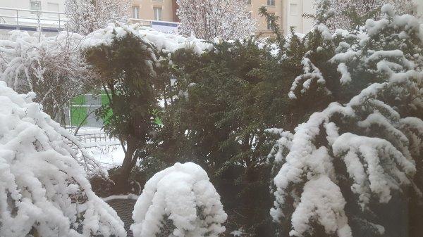 Est partie la neige !!!