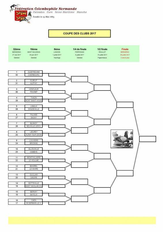 Coupe Des Club 3°R 16ème