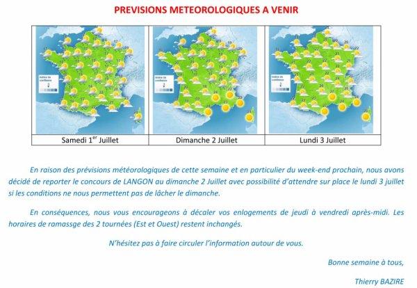 Langon Fédéral 3°R Reporté Dimanche/Lundi