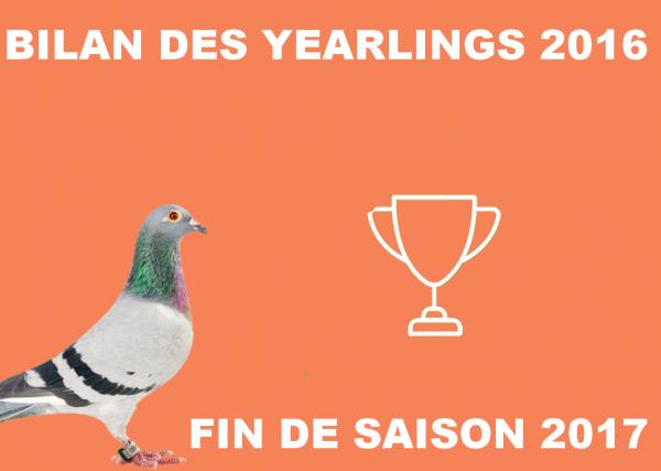 BILAN YEARLING 2016