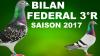 BILAN FEDERAL 3°R