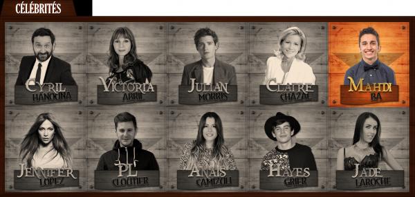 Célébrités : Saison 1