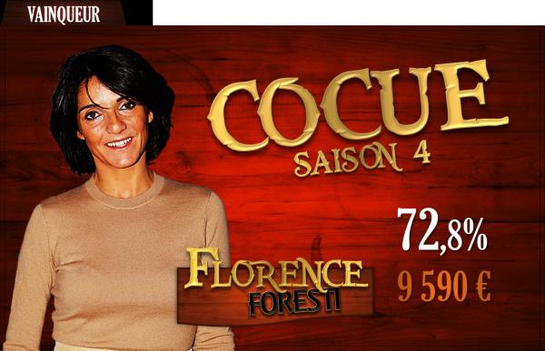 Vainqueur saison 4 : Florence Foresti