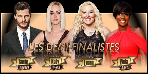 Les Demi-Finales - Février 2017