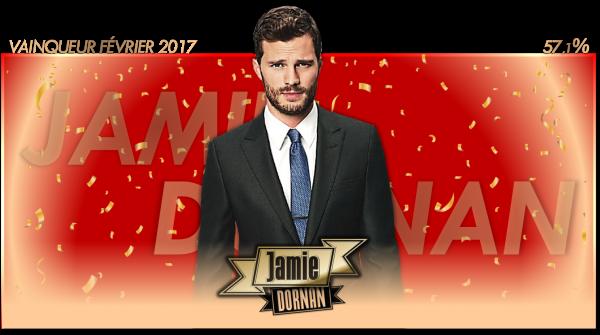 Vainqueur Février 2017 : Jamie Dornan