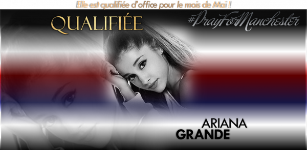 Qualification d'office : Ariana Grande