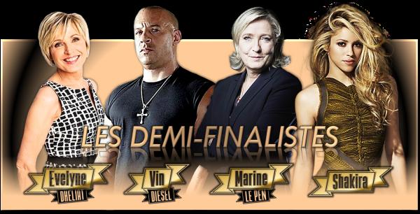 Les Demi-Finales - Avril 2017