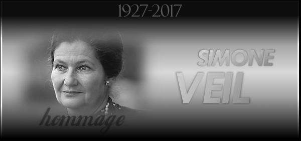 Hommage : Simone Veil