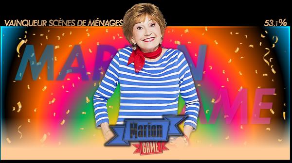 Vainqueur Scènes de Ménages : Marion Game