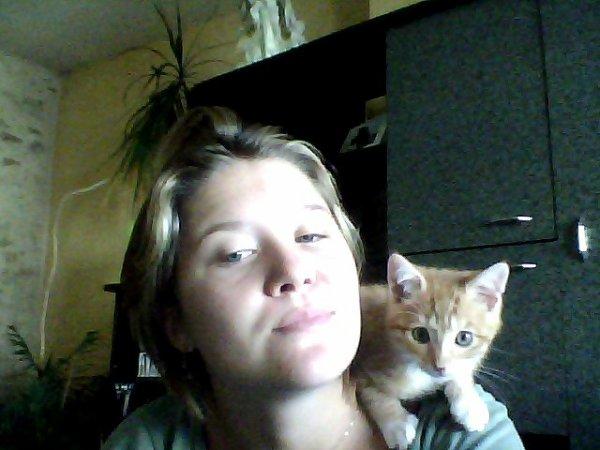 mon chat et moii
