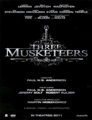 L'affiche, les trois mousquetaires