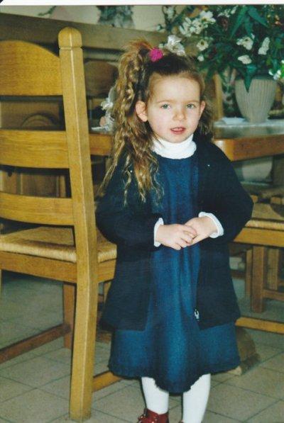 Moi quand j'étais toute Petite :D