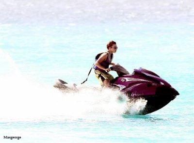 Nathan à La Barbade.