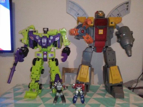 Transformers les géant