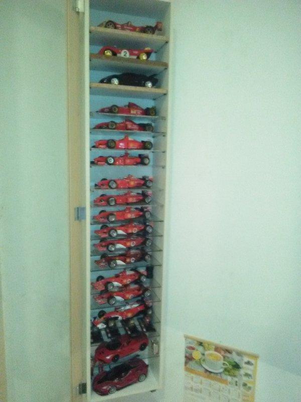 Ma collections Ferrari