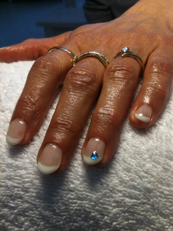 pose sur ongles naturelle