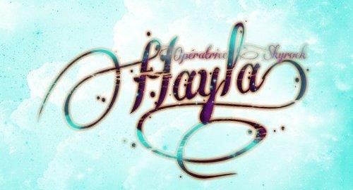 Pour Hayla =)