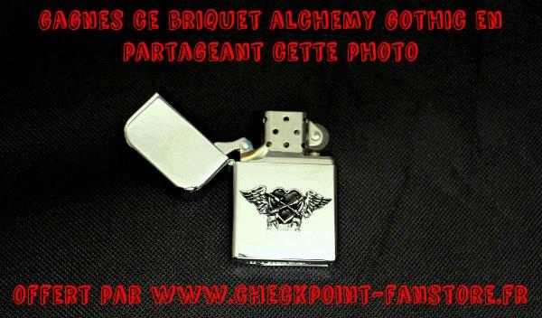 concours : gagnes un briquet Alchemy Gothic