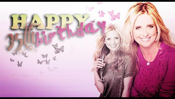 14 avril 2012 ▬ Sarah Michelle Gellar fête ses 35 ans.