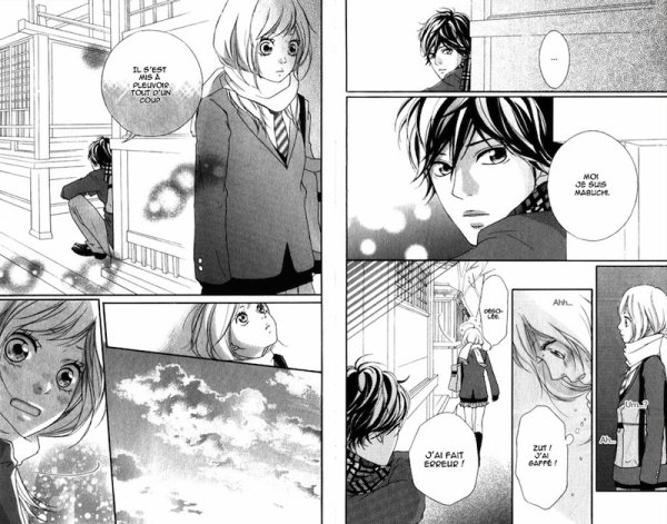 Graphisme du manga Blue spring ride