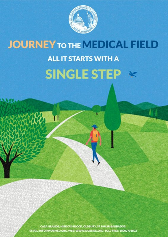 Journey to the medical field all it starts with a single step