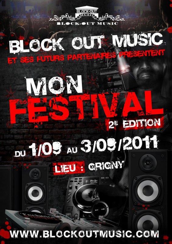 mon festival DU 1 AU 3 SEPTEMBRE 2011 A GRIGNY 91